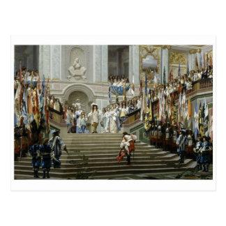 Cartão clássico da pintura cartão postal