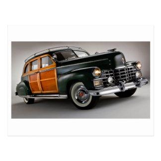 Cartão clássico do automóvel