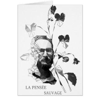 Cartão Claude Levi-Strauss