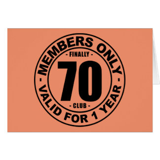 Cartão Clube finalmente 70