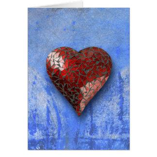 Cartão coleção coração-dada forma 22