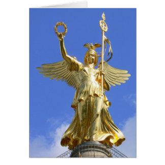 Cartão Coluna 02.T da vitória, Siegessäule, Berlim