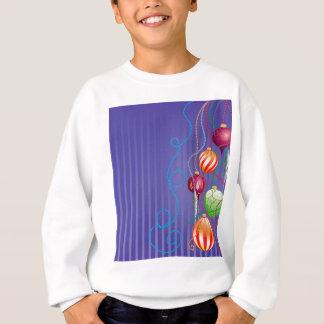 Cartão com bolas lustrosas t-shirts
