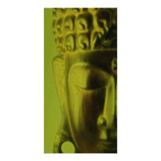 Cartão com fotos de Buddha pelo decano de Jai Cartão Com Foto