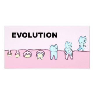 Cartão com fotos dental