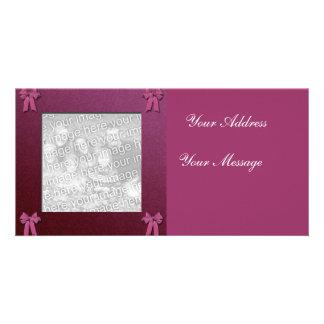 Cartão com fotos do casamento cartão com foto