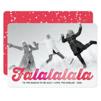 Cartão com fotos do feriado do Natal do