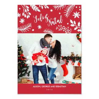 Cartão com fotos do feriado dos ramos do Feliz