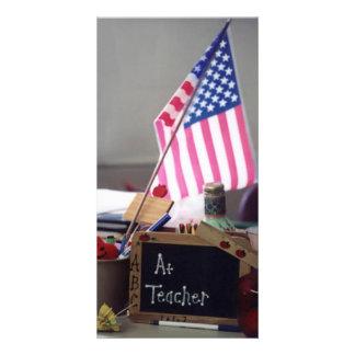 Cartão com fotos do professor #1 cartão com foto