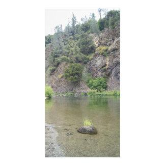 Cartão com fotos do rio do delta cartão com foto