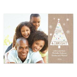 Cartão com fotos esperto do feriado de
