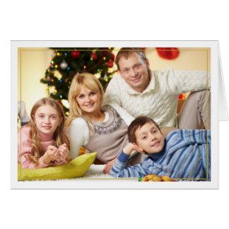 Cartão com fotos horizontal quadro das bênçãos do
