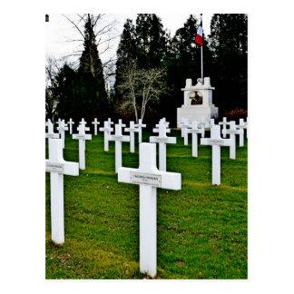 Cartão comemorativo de WWI
