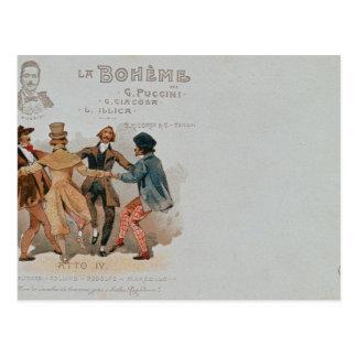Cartão comemorativo La da ópera ' Cartao Postal