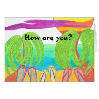 Cartão Como é você?