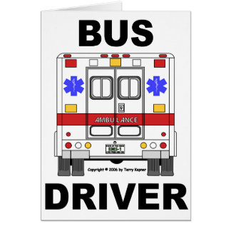 Cartão Condutor de autocarro