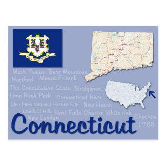 """Cartão """"Connecticut """""""