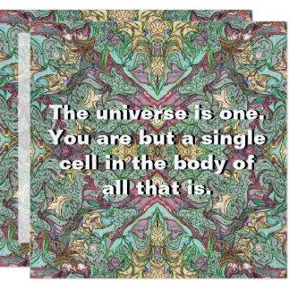 Cartão Consciência da deusa