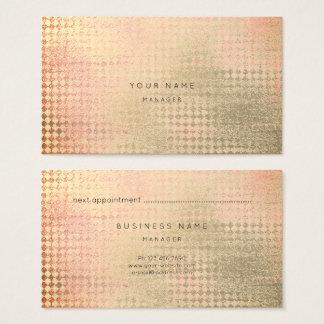 Cartão coral da nomeação do corte do diamante do