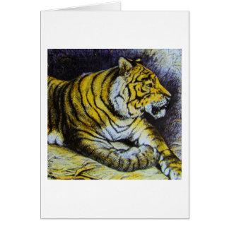 Cartão Corrediça de lanterna mágica de vidro UM CAT