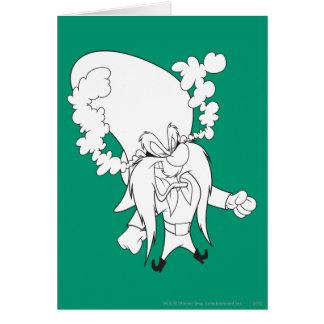 Cartão Cozinhar de Yosemite Sam louco