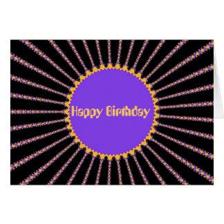 Cartão Cremalheira do rick (feliz aniversario)