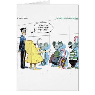 Cartão Crimes do rato pelo rick Londres engraçada