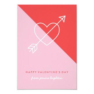 Cartão Cruze meus namorados da sala de aula do coração -