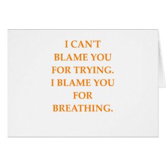 Cartão culpa