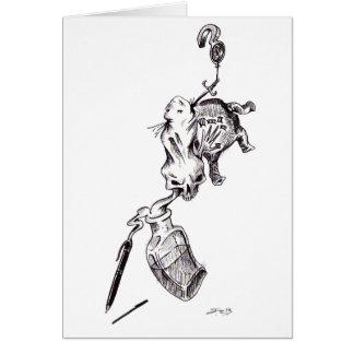 """Cartão """"Culpa"""" - caneta & tinta por Jeremy Charles"""
