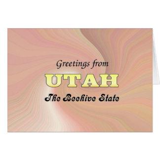 Cartão Cumprimentos de Utá