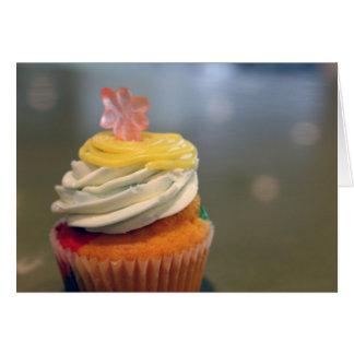 Cartão - cupcake