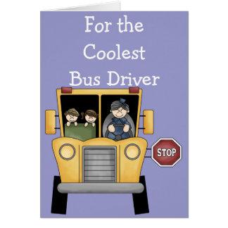 Cartão customizável do motorista de auto escolar