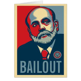 Cartão da ajuda de Ben Bernanke