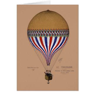 Cartão da arte do balão 5x7 de BA02486FAC01Z-Le