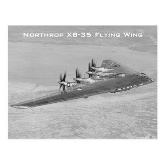 Cartão da asa de vôo de Northrop XB-35