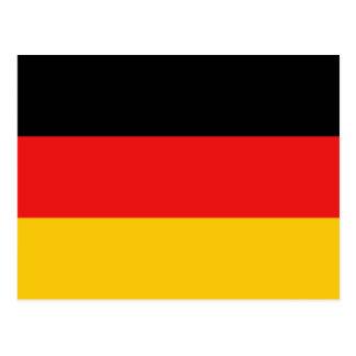 Cartão da bandeira de Alemanha