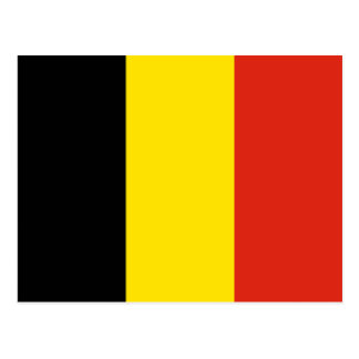 Cartão da bandeira de Bélgica