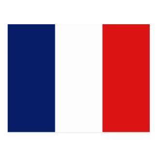 Cartão da bandeira de France