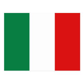 Cartão da bandeira de Italia