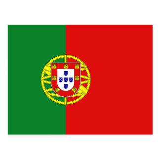 Cartão da bandeira de Portugal