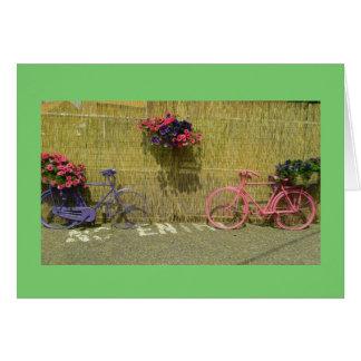 Cartão da bicicleta