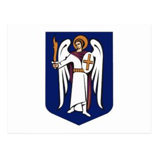 Cartão da brasão de Kiev