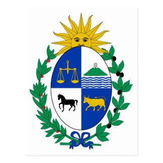 Cartão da brasão de Uruguai Cartões Postais