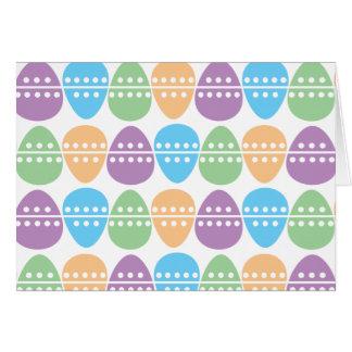 Cartão da caça do ovo (horizontal)