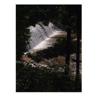 Cartão da cachoeira cartão postal