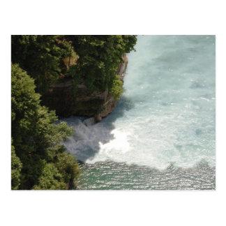 Cartão da cachoeira cartoes postais