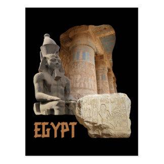 Cartão da colagem da foto de EGIPTO Cartoes Postais