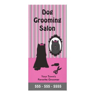 Cartão da cremalheira da preparação do cão - Perso Panfleto Personalizado