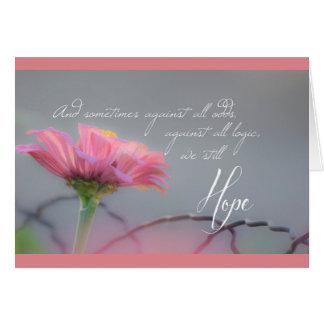 Cartão da esperança